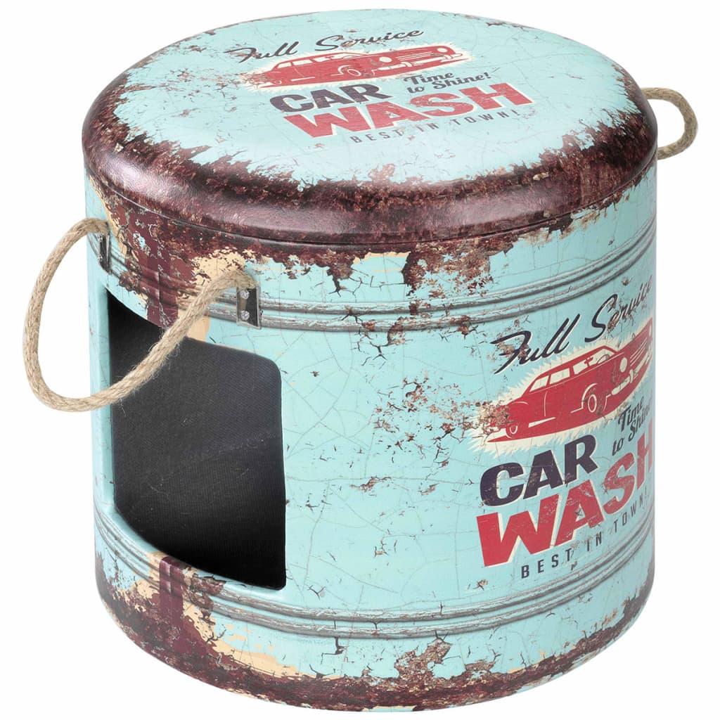 Afbeelding van D&D Dierenhuisje Car Wash 35x34 cm blauw 434/429402