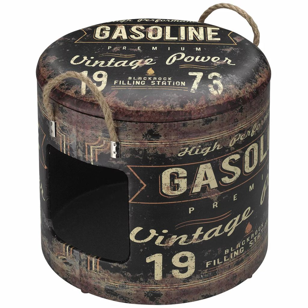 Afbeelding van D&D Dierenhuisje Gasoline 35x34 cm maat M bruin 434/431658