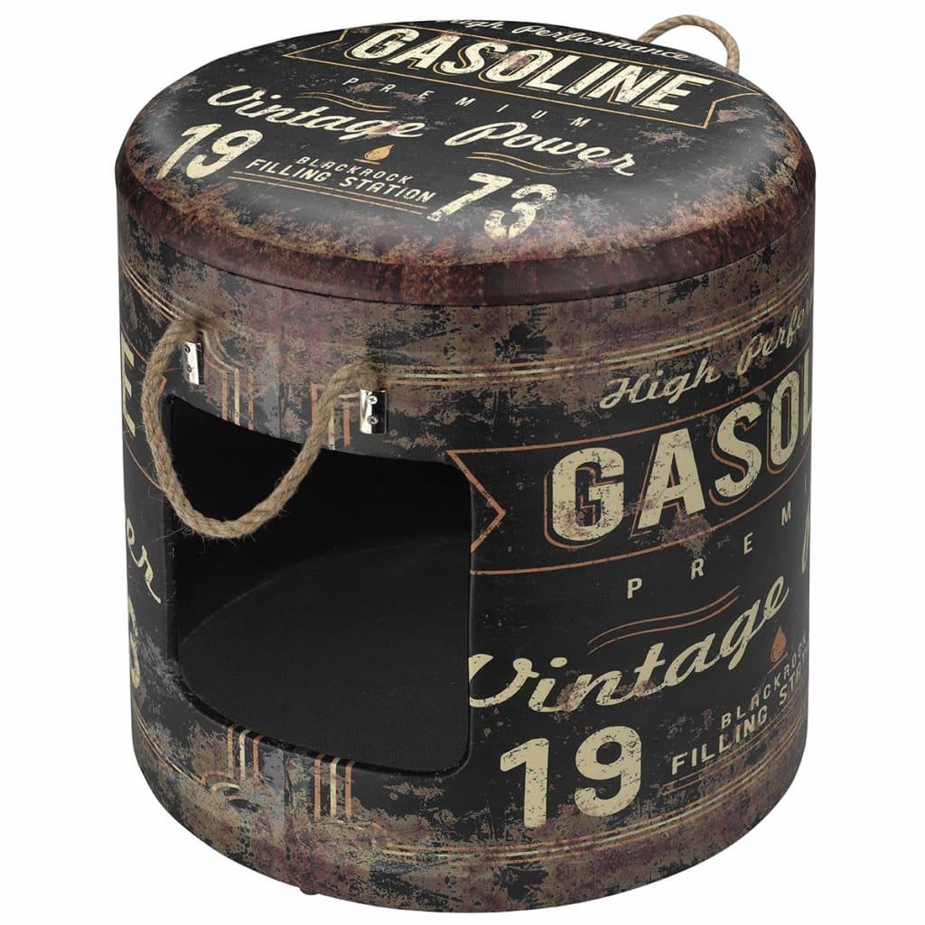 Afbeelding van D&D Dierenhuisje Gasoline 42x40 cm maat L bruin 434/431665