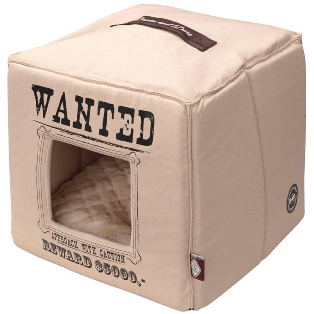 Afbeelding van D&D Huisdierenbed Wanted 40x40x40 cm beige 671/432310