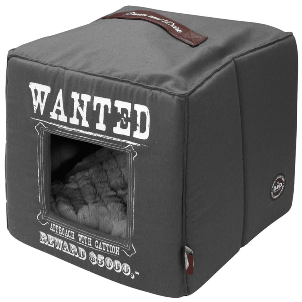 Afbeelding van D&D Huisdierenbed Wanted 40x40x40 cm grijs 671/432327