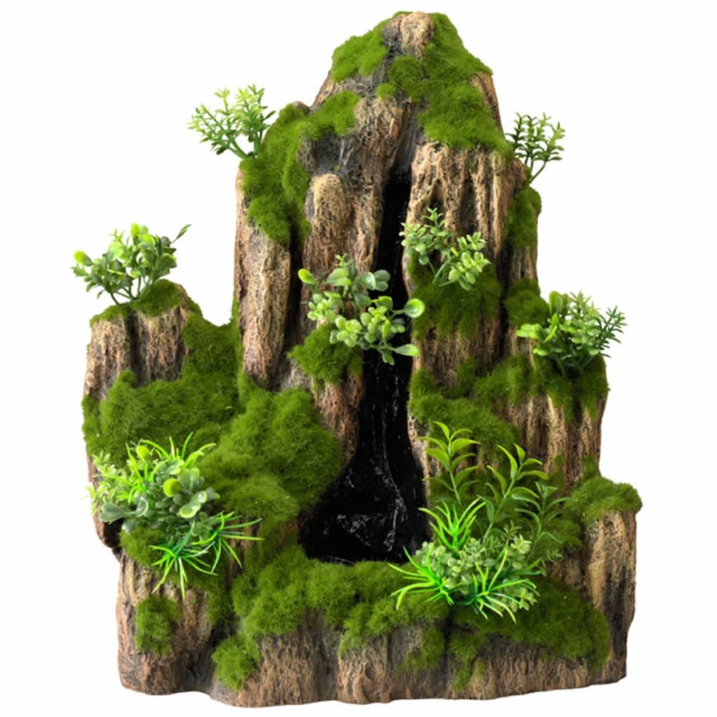 Afbeelding van Aqua d'ella Aquarium waterval Moss Rock met 1 stroom 234/434963