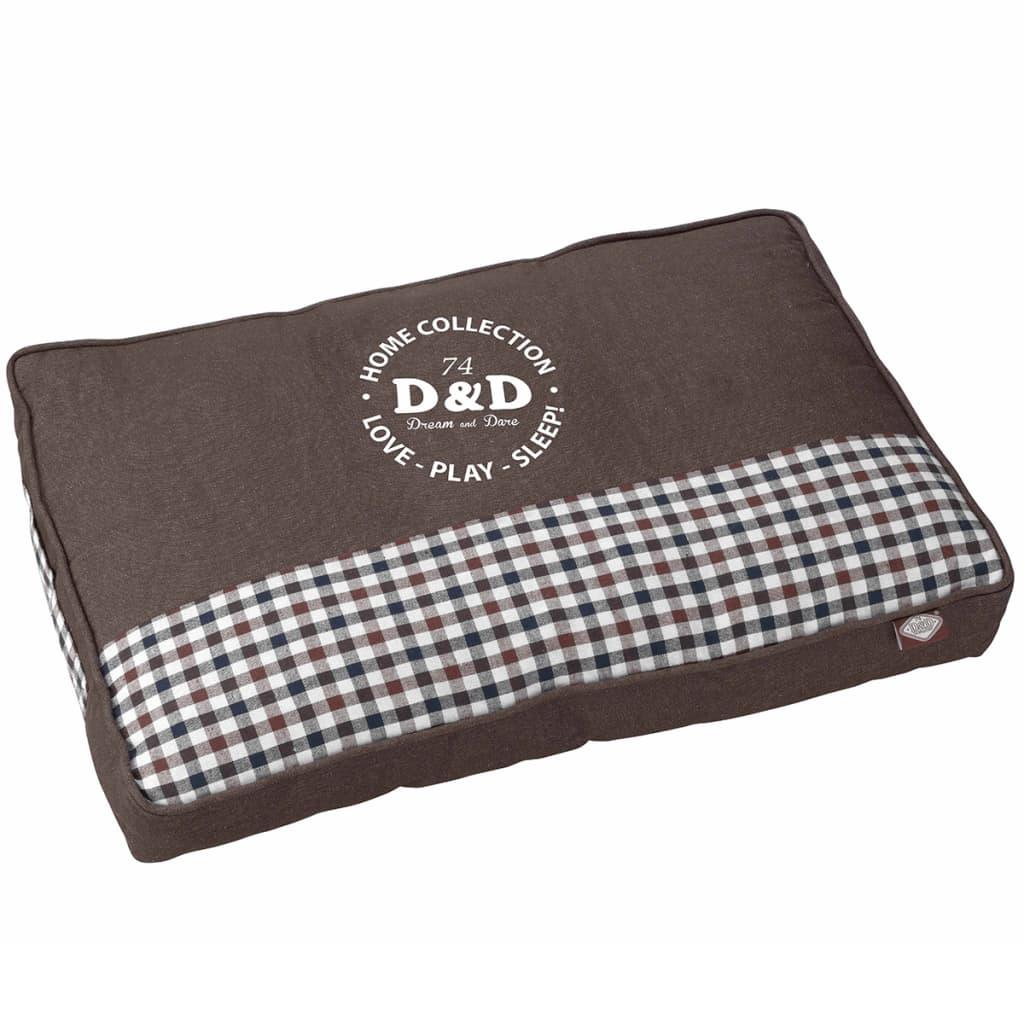 D&D Haustierbett Sweet Checker 100 x 70 cm 671/438053