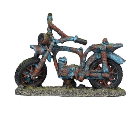 Aqua d'ella Akvariedekoration moped Crossly 19x7x14cm PET harts