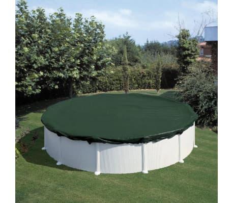 Summer Fun Couverture de piscine d'hiver Ronde 460 cm PVC Vert[1/2]