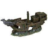 TRIXIE Shipwreck Aquarium Ornament Polyester Resin 8743
