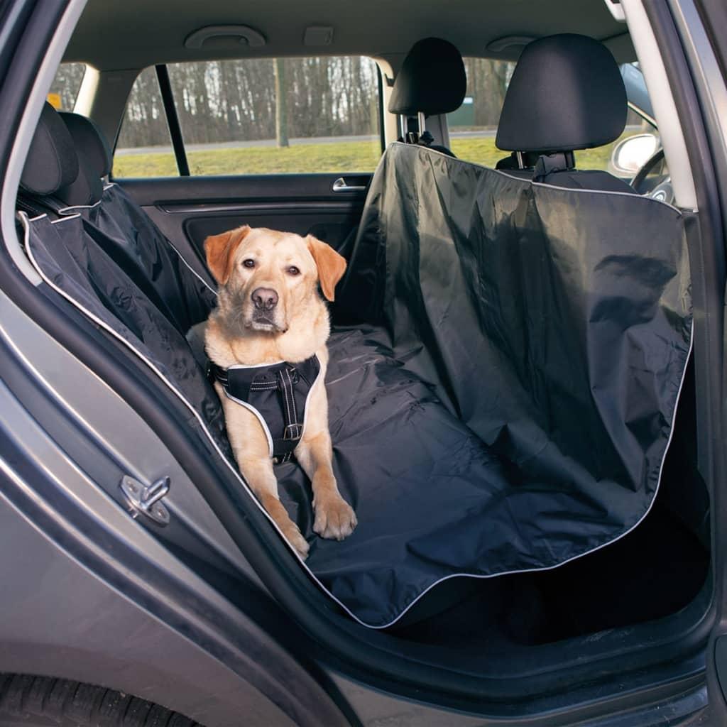 TRIXIE Honden autostoel beschermhoes 150x145 cm zwart 13472