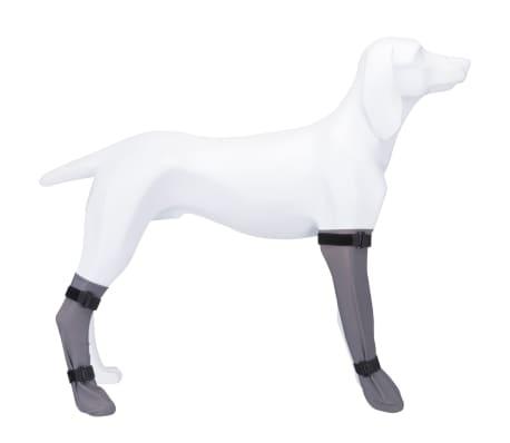 TRIXIE Chaussette de protection pour chiens Gris Taille M 19432[2/2]