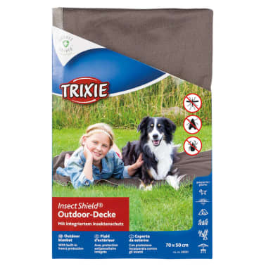 TRIXIE Outdoor Decke Insect Shield 70 x 50 cm Taupe 28561[4/4]