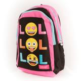 Emoji LOL glitter dots bolso trasero