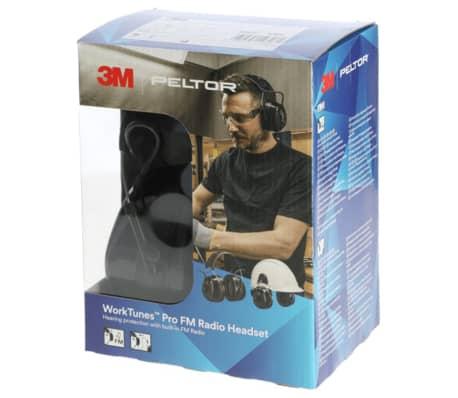 3M Hörselskydd med radio Worktunes Pro Peltor svart 34732[2/2]