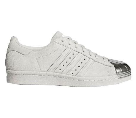 adidas superstar dames wit zilver
