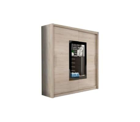 justyou klein ix kleiderschrank 214x200x62 cm g nstig kaufen. Black Bedroom Furniture Sets. Home Design Ideas