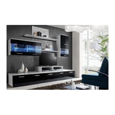 Amazing Justyou Lago Ii Living Room Furniture Set White Black Download Free Architecture Designs Scobabritishbridgeorg