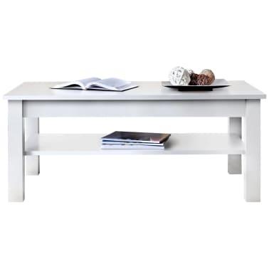 JUSTyou UNO Tavolino da salotto Bianco Opaco | vidaXL.it