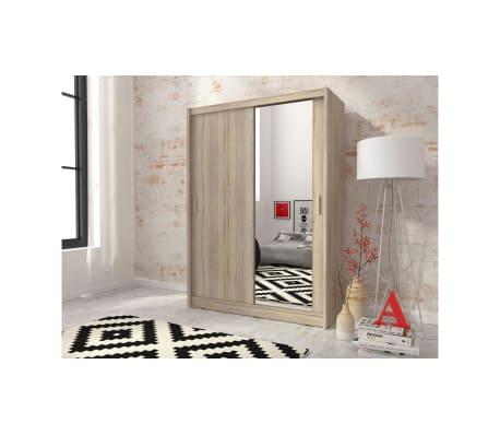 justyou maya 150 kleiderschrank eiche g nstig kaufen. Black Bedroom Furniture Sets. Home Design Ideas