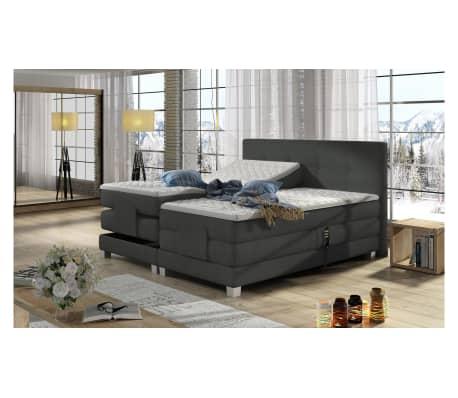 justyou tasso boxspringbett dunkelgrau 180x200 g nstig kaufen. Black Bedroom Furniture Sets. Home Design Ideas