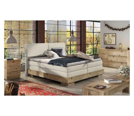 justyou kalone boxspringbett massiv beige 180x200 g nstig kaufen. Black Bedroom Furniture Sets. Home Design Ideas