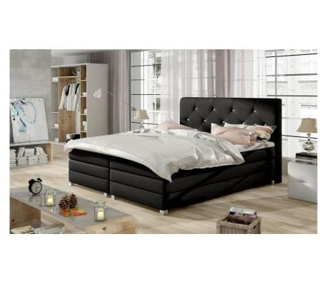 justyou teja boxspringbett schwarz 180x200 cm g nstig kaufen. Black Bedroom Furniture Sets. Home Design Ideas