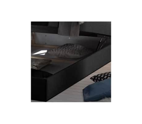 justyou new bedford boxspringbett 140x200 cm schwarz g nstig kaufen. Black Bedroom Furniture Sets. Home Design Ideas