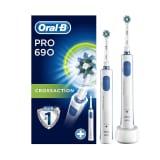 Brosses à dents électrique Oral-B Pro 690 CrossAction Duo
