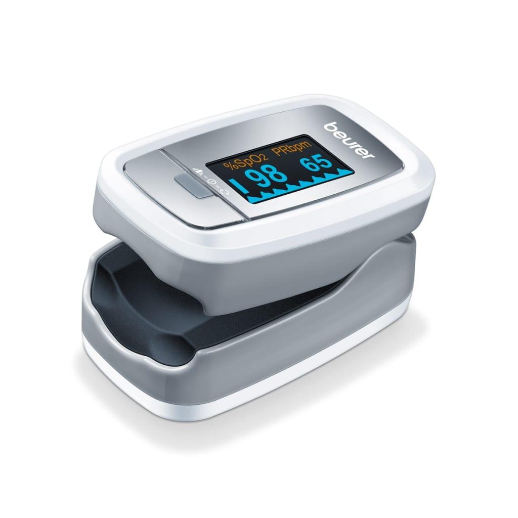 Afbeelding van Beurer PO30 Pulseoximeter zilver 454.30