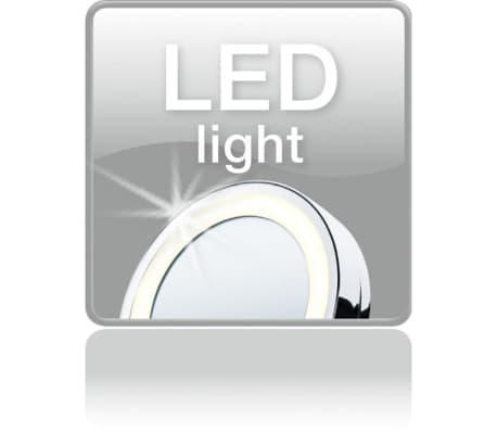 Beurer Kosmetinis veidrodis su apšvietimu BS59, sidabro sp., 584.10[6/8]