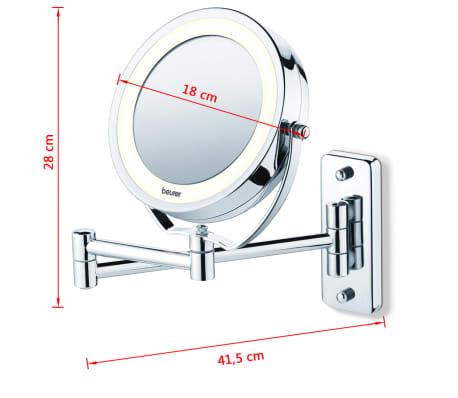 Beurer Kosmetinis veidrodis su apšvietimu BS59, sidabro sp., 584.10[8/8]