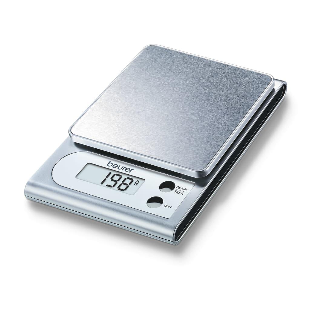 Beurer køkkenvægt KS22 3 kg sølv 704.10