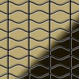 ALLOY Kismet & Karma-BM Kovová mozaika z mosaze zlatá