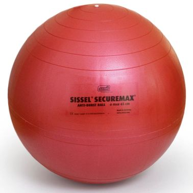 Sissel Gymnastikball Securemax 65 cm Rot SIS-160.009[2/3]