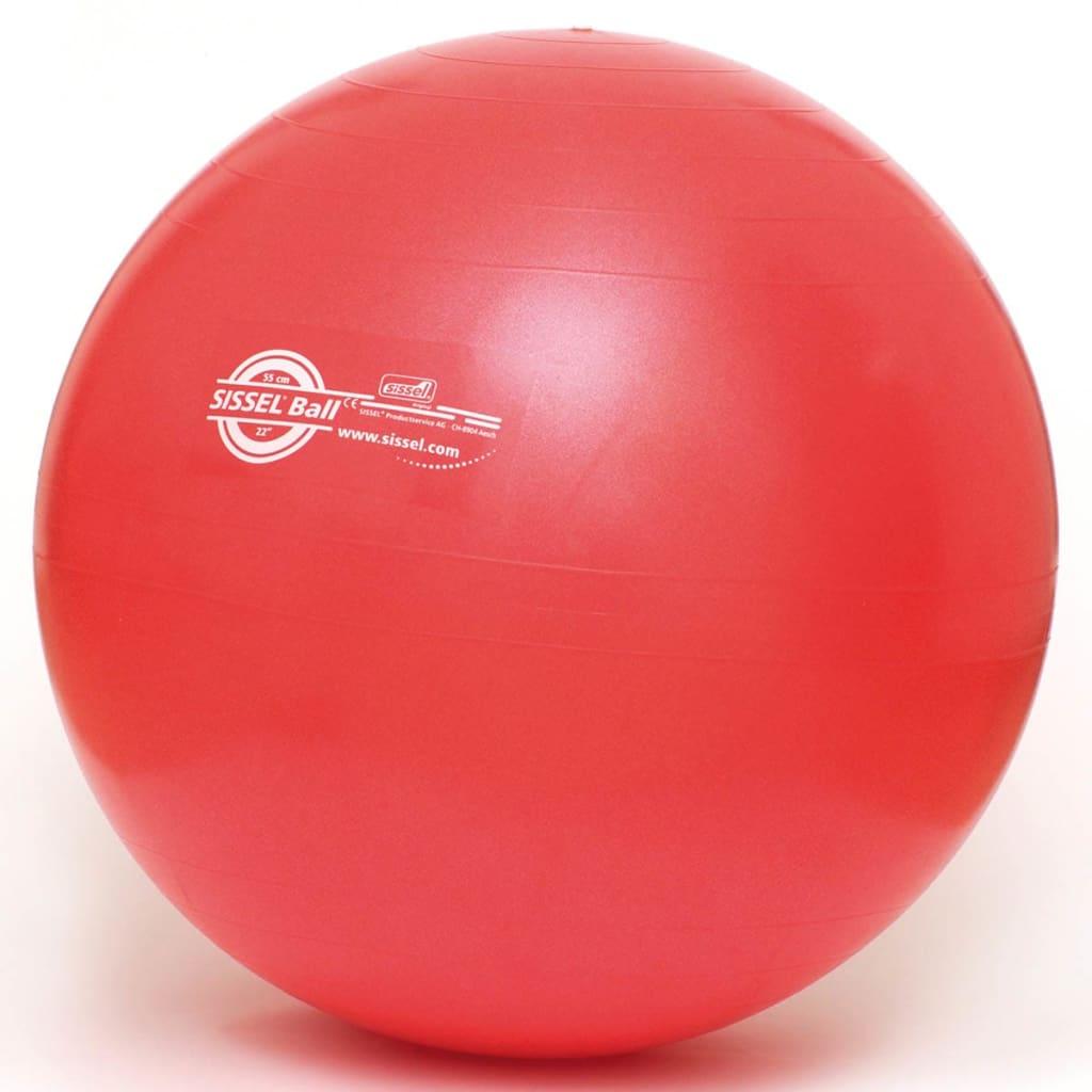 Sissel Gymnastikball 55 cm Rot SIS-160.061