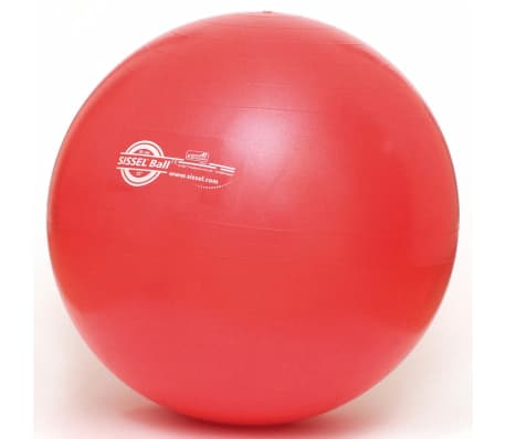 Sissel Ballon d'exercice 65 cm Rouge SIS-160.062