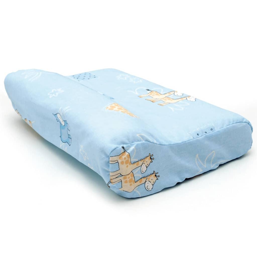 Afbeelding van Sissel Orthopedisch kussen Soft Bambini 35x25x9 cm blauw SIS-110.007