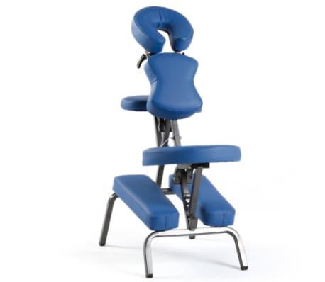 Sissel Portabler Massagestuhl 69 x 48 x (115-130) cm Blau SIS-301.010[1/3]