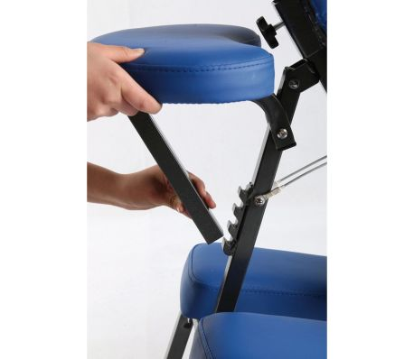 Sissel Portabler Massagestuhl 69 x 48 x (115-130) cm Blau SIS-301.010[2/3]