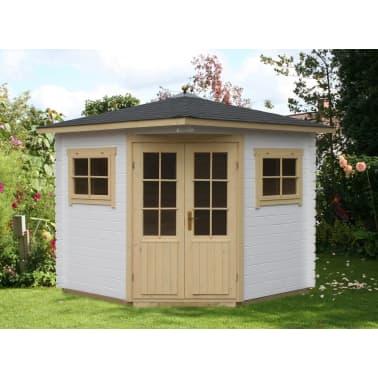Alpholz 5-Eck Gartenhaus Modell Sunny-A