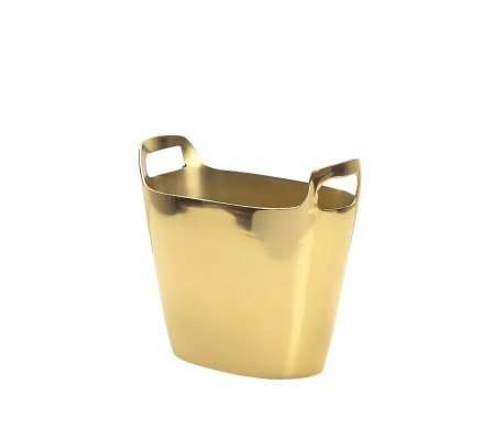 Cubitera de metal dorada SUNBAT
