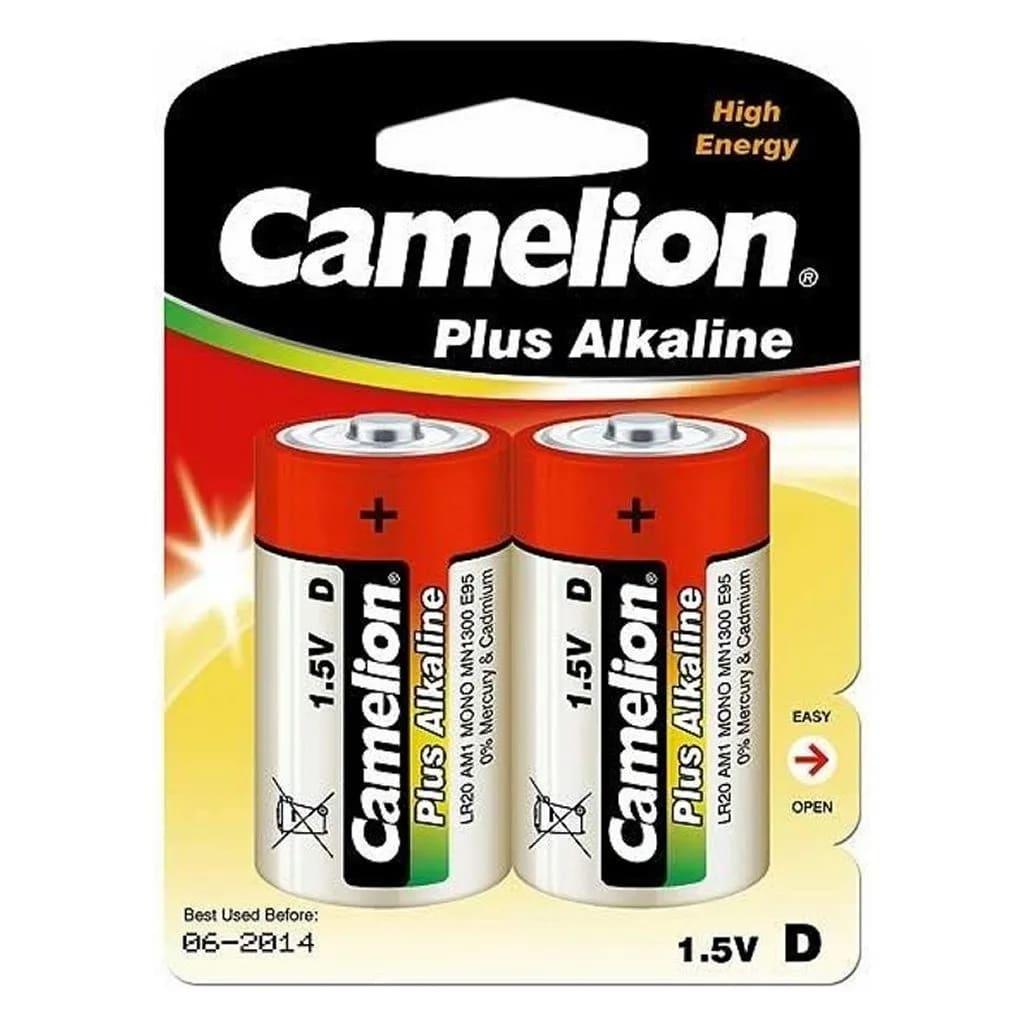 Basic LR20-BP2 Camelion Plus Alkaline-Batterien 1,5 V 2 Stück