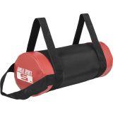 Fitness bag noir/rouge - Sac lesté de 5kg à 30kg - 5 KG