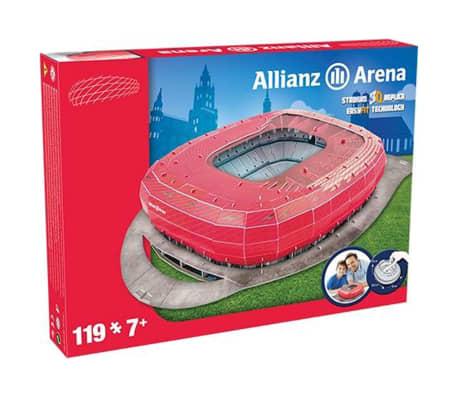 Nanostad Juego puzzle 3D 119 piezas Allianz Arena PUZZ180053[3/3]