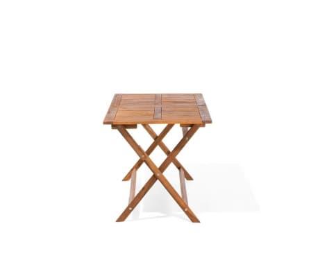 acheter table de jardin rectangulaire en bois cento pas cher. Black Bedroom Furniture Sets. Home Design Ideas