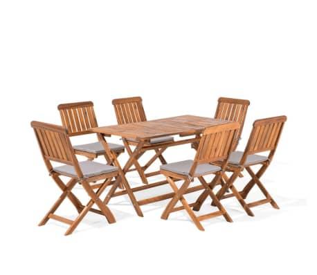 Gartenmöbel Set Holz 6-Sitzer CENTO günstig kaufen | vidaXL.de