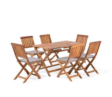 Gartenmöbel set holz  Gartenmöbel Set Holz 6-Sitzer CENTO günstig kaufen | vidaXL.de