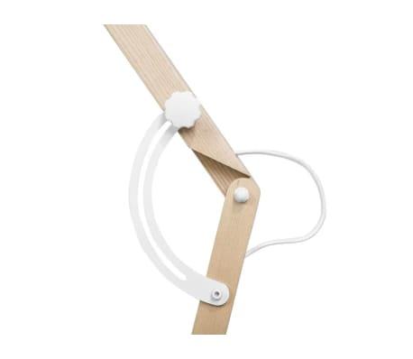 Lámpara de pie blanca 175 cm HETTON[6/11]
