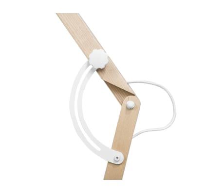 Lámpara de pie blanca 175 cm HETTON[8/11]