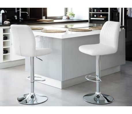 barhocker weiss h henverstellbar osaka g nstig kaufen. Black Bedroom Furniture Sets. Home Design Ideas