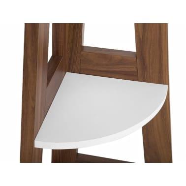 Estante madera oscura/blanco MOBILE SOLO[6/11]