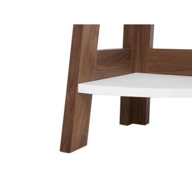 Estante madera oscura/blanco MOBILE SOLO[7/11]