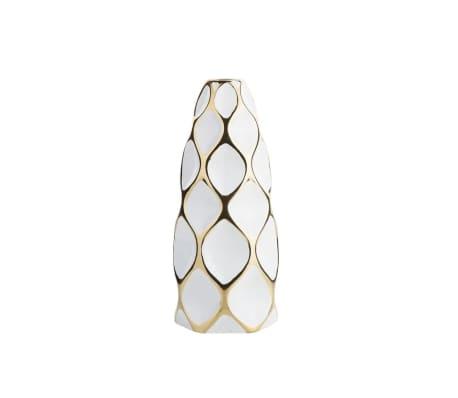 Vase en céramique blanche AVILA[2/10]